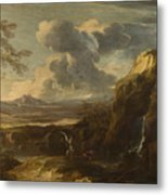 Landscape With Tobias And The Angel  Metal Print