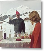 Lech Ice Bar Metal Print