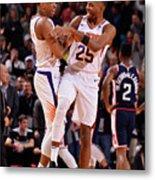Los Angeles Clippers V Phoenix Suns Metal Print