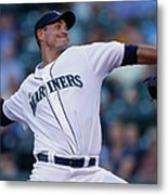Minnesota Twins V Seattle Mariners Metal Print