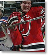 New York Rangers V New Jersey Devils Metal Print