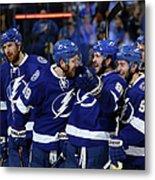 New York Rangers V Tampa Bay Lightning Metal Print