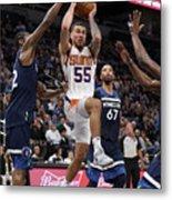 Phoenix Suns V Minnesota Timberwolves Metal Print