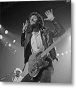 Springsteen Live In New Jersey Metal Print