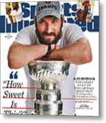 The Ultimate Trifecta 3 Days, 3 Champions Sports Illustrated Cover Metal Print