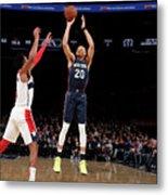 Washington Wizards V New York Knicks Metal Print