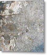 Weathered Stone Wall Metal Print