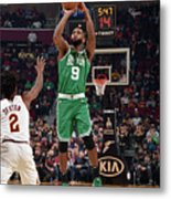 Boston Celtics V Cleveland Cavaliers Metal Print
