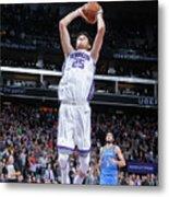 Oklahoma City Thunder V Sacramento Kings Metal Print