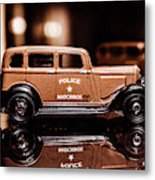 33 Plymouth Police Metal Print