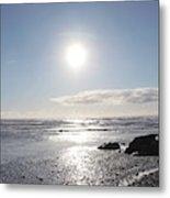 Ruby Beach Sunshine Metal Print