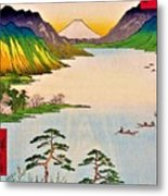 36 Views Of Mt.fuji - Shinshu Suwa Lake Metal Print