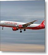 Air Berlin Airbus A321-211 Metal Print