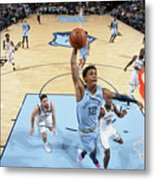 Brooklyn Nets V Memphis Grizzlies Metal Print