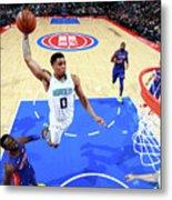 Charlotte Hornets V Detroit Pistons Metal Print