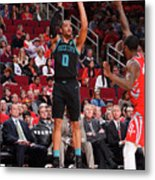 Charlotte Hornets V Houston Rockets Metal Print