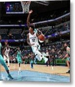 Charlotte Hornets V Memphis Grizzlies Metal Print