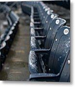 Chicago Cubs V. New York Yankees Metal Print