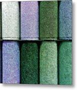 Colourful Carpet Samples Metal Print