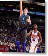 Dallas Mavericks V Phoenix Suns Metal Print