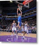Dallas Mavericks V Sacramento Kings Metal Print