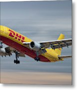 Dhl Airbus A300-f4 Metal Print