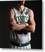 Gordon Hayward Boston Celtics Portraits Metal Print