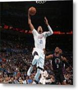 La Clippers V Oklahoma City Thunder Metal Print