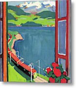Lake Geneva Metal Print
