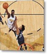 Memphis Grizzlies V Denver Nuggets Metal Print