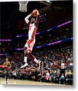 Miami Heat V Atlanta Hawks Metal Print
