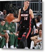 Miami Heat V Milwaukee Bucks Metal Print