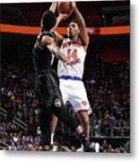 New York Knicks V Detroit Pistons Metal Print