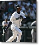 New York Yankees V Seattle Mariners 4 Metal Print