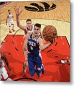 Philadelphia 76ers V Toronto Raptors Metal Print