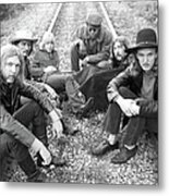 Photo Of Allman Brothers Metal Print
