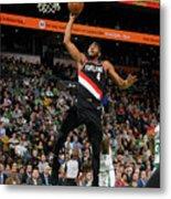 Portland Trail Blazers V Boston Celtics Metal Print
