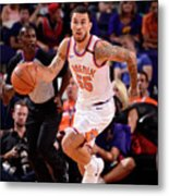 Portland Trail Blazers V Phoenix Suns Metal Print