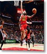 San Antonio Spurs V Atlanta Hawks Metal Print