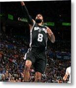 San Antonio Spurs V Oklahoma City Metal Print