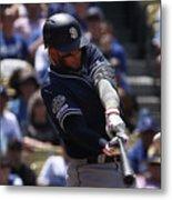 San Diego Padres V Los Angeles Dodgers Metal Print