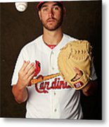 St. Louis Cardinals Photo Day Metal Print