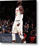 Toronto Raptors V New York Knicks Metal Print