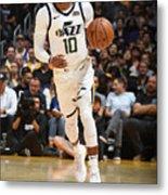 Utah Jazz V Los Angeles Lakers Metal Print
