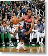Washington Wizards V Boston Celtics Metal Print