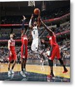 Washington Wizards V Memphis Grizzlies Metal Print