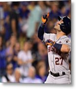World Series - Houston Astros V Los Metal Print