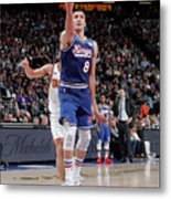 Phoenix Suns V Sacramento Kings Metal Print