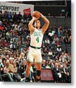 Boston Celtics V Charlotte Hornets Metal Print
