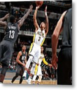 Brooklyn Nets V Indiana Pacers Metal Print
